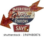 vintage grungy american... | Shutterstock .eps vector #1969480876