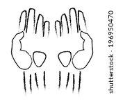 hand vector | Shutterstock .eps vector #196950470