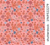 vector seamless pattern with... | Shutterstock .eps vector #1969522279
