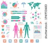 medical infographic set.   Shutterstock .eps vector #196953683