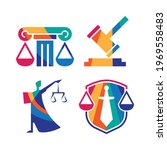 collection colorful law logo... | Shutterstock .eps vector #1969558483