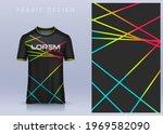 fabric textile design for sport ... | Shutterstock .eps vector #1969582090