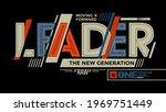 leader the new generation ... | Shutterstock .eps vector #1969751449
