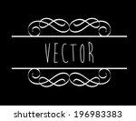 label design over background ...   Shutterstock .eps vector #196983383