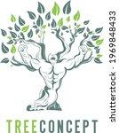 Illustrations Tree Man Natural...