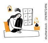 concept of sadness  nostalgia ...   Shutterstock .eps vector #1969872496