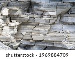 Rock Cliff Face Background....