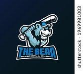 bear mascot logo design vector...   Shutterstock .eps vector #1969981003