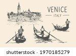 Italian Gondolas And Gondoliers ...