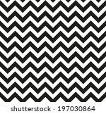 chevron zigzag black white... | Shutterstock .eps vector #197030864
