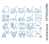 voice control elements sketch... | Shutterstock .eps vector #1970316980