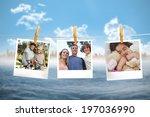 composite image of instant... | Shutterstock . vector #197036990