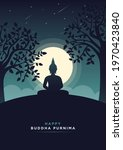 Happy Buddha Purnima Minimal...