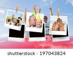 composite image of instant... | Shutterstock . vector #197043824