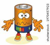 cute cartoon battery. energy... | Shutterstock . vector #1970457923