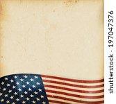 vintage style grunge background ...   Shutterstock .eps vector #197047376