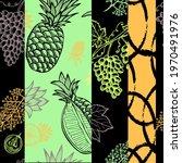 elegant seamless pattern with... | Shutterstock .eps vector #1970491976