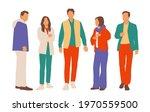set of young men and women ... | Shutterstock .eps vector #1970559500