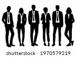 vector silhouettes of  men and... | Shutterstock .eps vector #1970579219