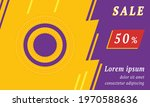 sale promotion banner with...
