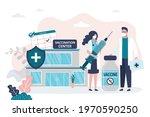 female character holding large...   Shutterstock .eps vector #1970590250