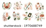 set of ecology icons. zero... | Shutterstock .eps vector #1970688749