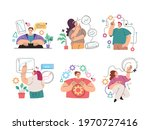 man woman people manager... | Shutterstock .eps vector #1970727416