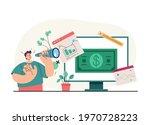 businessman office worker... | Shutterstock .eps vector #1970728223