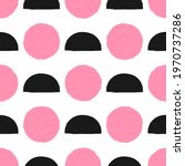 seamless pattern with circles... | Shutterstock .eps vector #1970737286