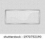 glass plate in rectangle frame...   Shutterstock .eps vector #1970752190