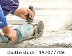 Paving Stone Saws Working With...