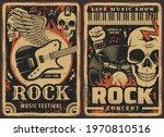 rock music posters  concert or...   Shutterstock .eps vector #1970810516