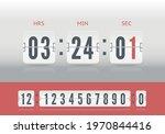 white scoreboard number...