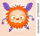 happy cartoon monster....   Shutterstock .eps vector #1970856539