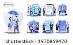 life insurance and family... | Shutterstock .eps vector #1970859470