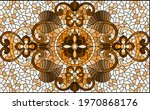 illustration in stained glass... | Shutterstock .eps vector #1970868176