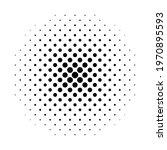 halftone circle. fade dot. pop...   Shutterstock .eps vector #1970895593