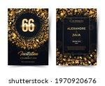 66th years birthday vector...   Shutterstock .eps vector #1970920676
