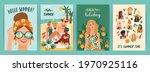 set of bright summer... | Shutterstock .eps vector #1970925116