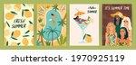 set of bright summer... | Shutterstock .eps vector #1970925119