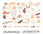 minimal abstract organic shapes ... | Shutterstock .eps vector #1970947379