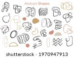 minimal abstract organic shapes ... | Shutterstock .eps vector #1970947913