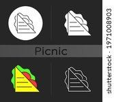 Sandwiches Dark Theme Icon. Ham ...
