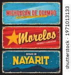 michoacan de ocampo  morelos... | Shutterstock .eps vector #1971013133
