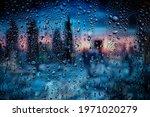 Raindrop On The Window ...