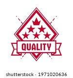 vector premium exclusive label... | Shutterstock .eps vector #1971020636