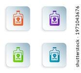 color poison in bottle icon...   Shutterstock .eps vector #1971043676