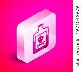 isometric poison in bottle icon ...   Shutterstock .eps vector #1971043679