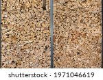 Stacked Firewood With Parts Of...