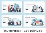diplomat profession web banner... | Shutterstock .eps vector #1971054266